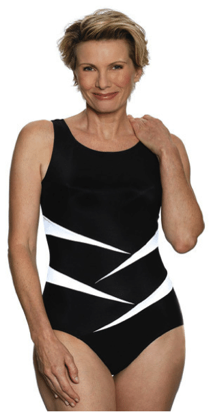 Jodee Fun in the Sun Mastectomy Tank Swimsuit