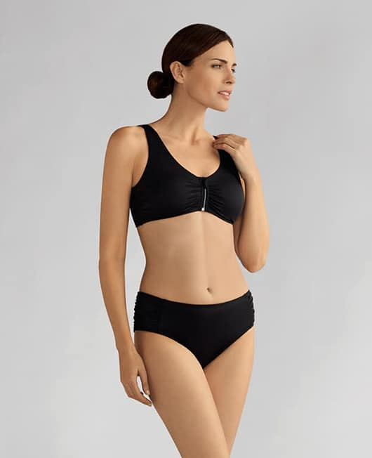 Amoena Cayman Black Metal Swimsuit